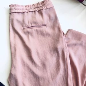 Zara Pants - Zara Pink Basic Trousers